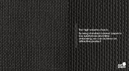 Kallpräglat blekt, oblekt eller färgat papper